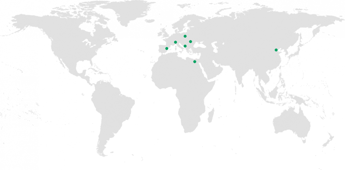 Green Steel Group in the world